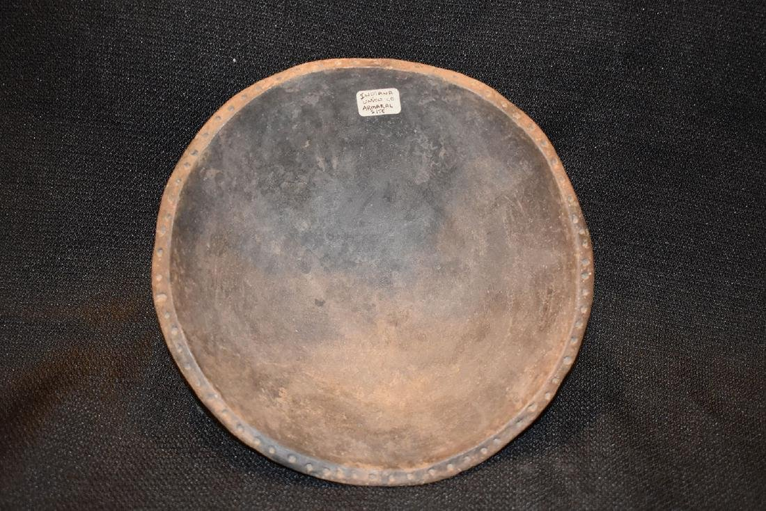 """Designed Rim Bowl, Union Co IN, Armaral Site, 7.1/2"""""""