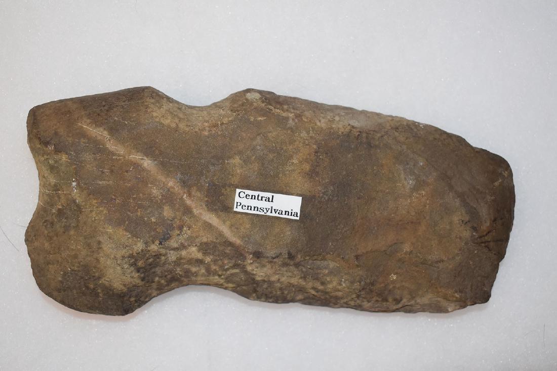 "8 inch rare ""tri-groove"" Pennsylvania axe"