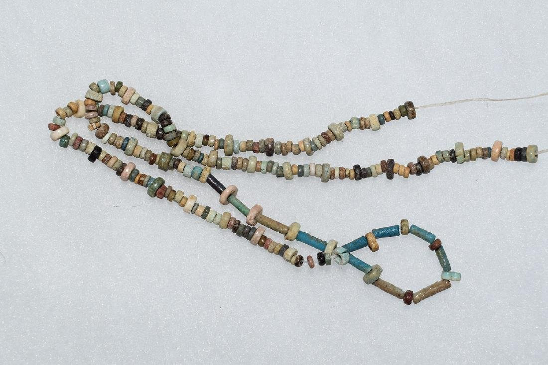"Trade Bead Necklace, 16"", Plains Indian"