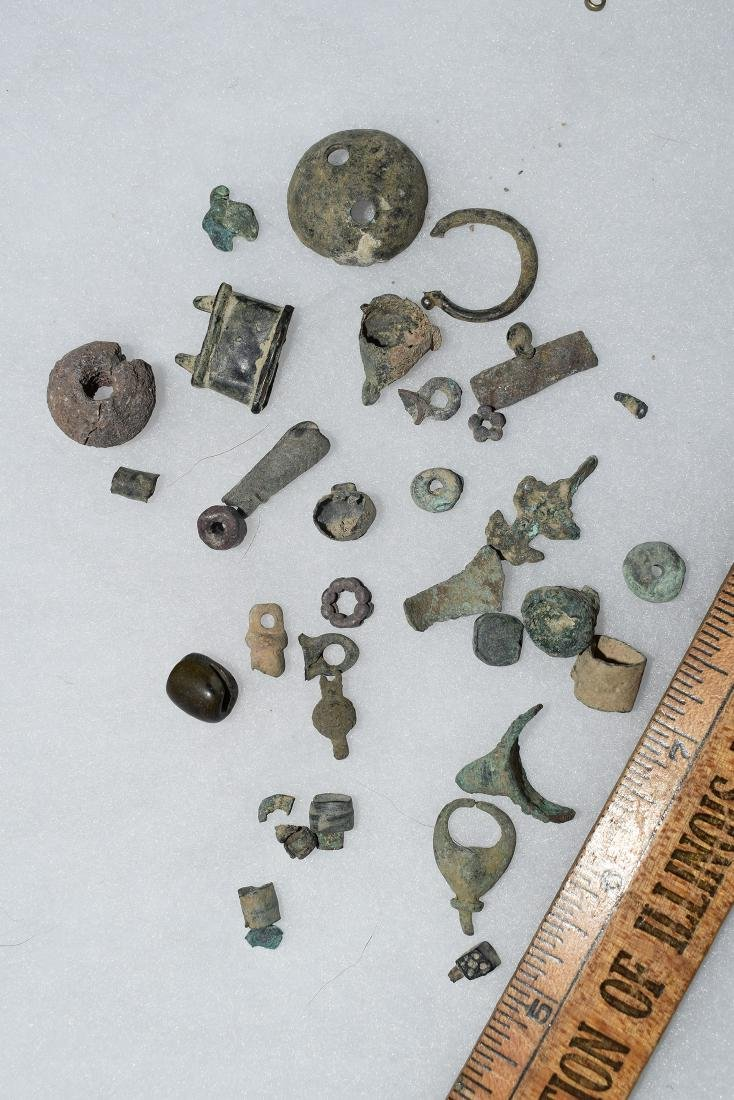 Nice lot of Beads / Tinklers / Trinkets, New England