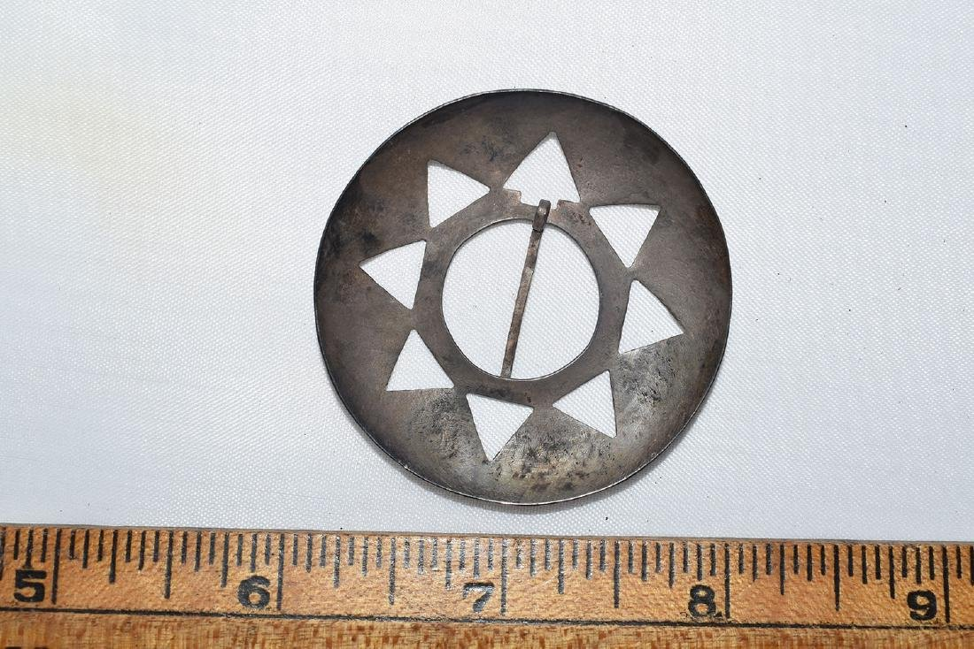 Superior Silver Broach, Northern Michigan, Ex Adams - 2
