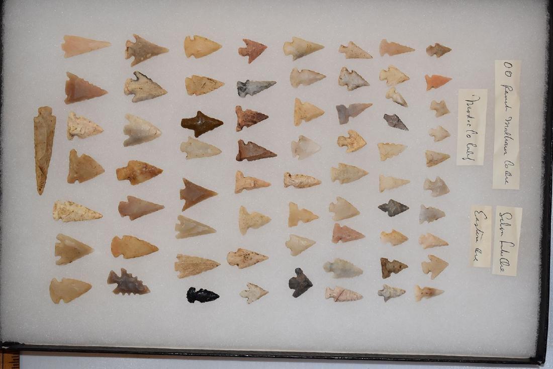 Original Frame of Bird Points, Ex Dr Green Collection,