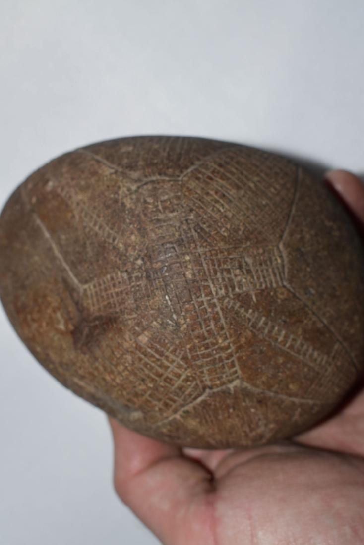 Super engraved Stone, Northeast Coast, Historic, - 5