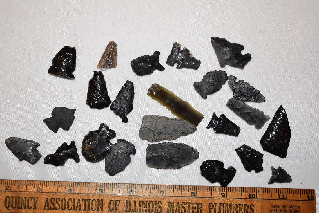 Lot of Arrowheads, from Fort Rock SE Oregon