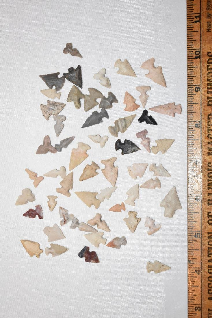 Lot of Arrowheads, Some Repoductions, from Continental