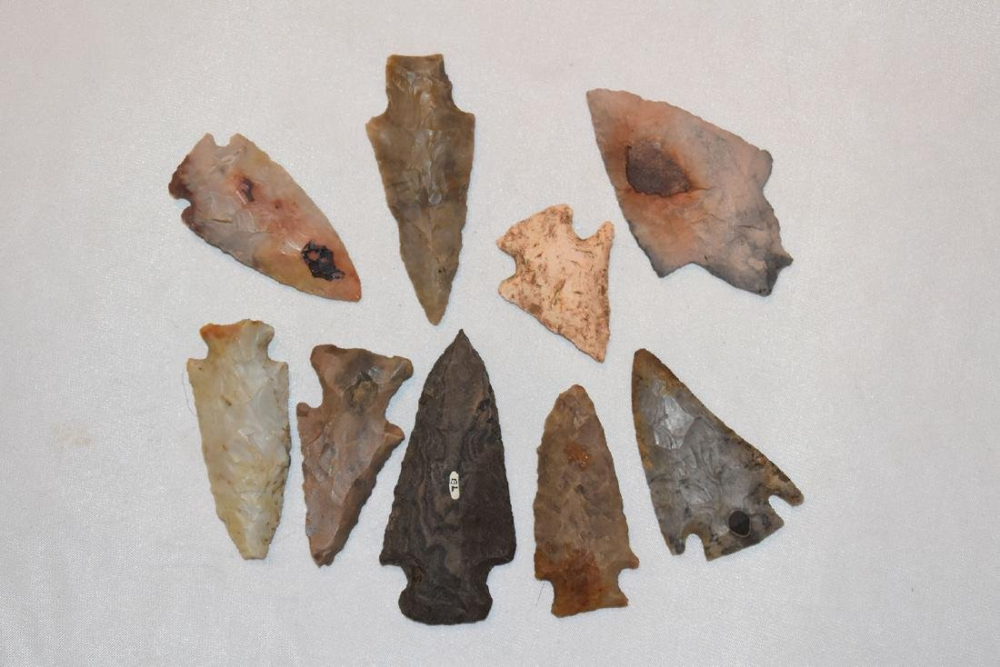 Lot of Arrowheads, Midwest