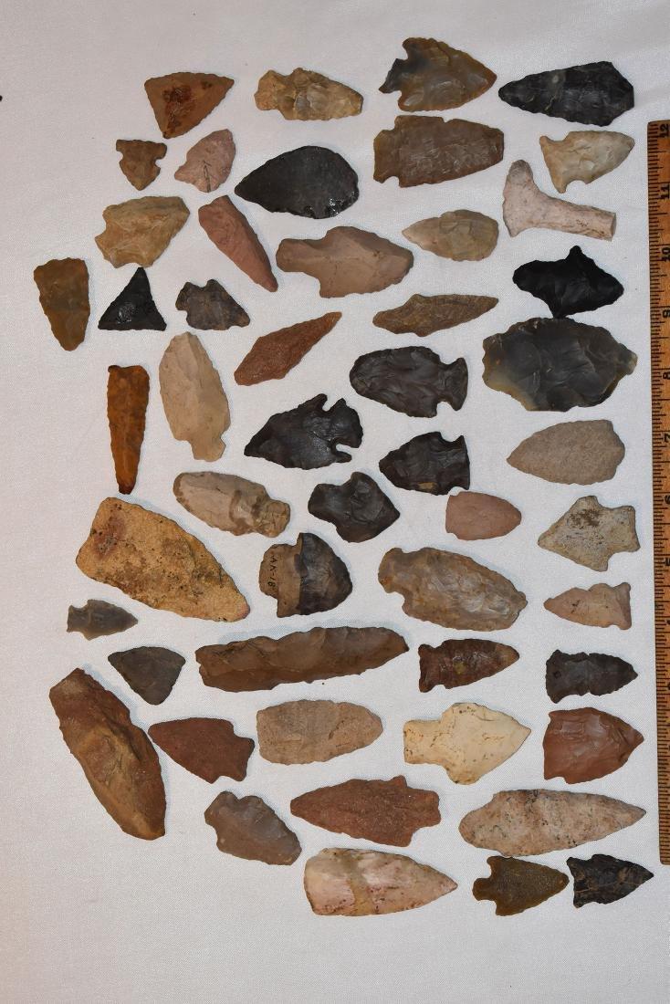 Large lot of Arrowheads, USA