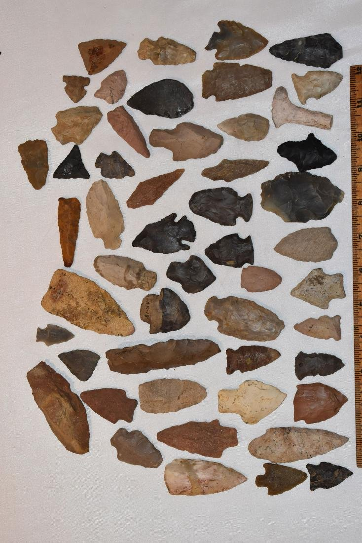 Large lot of Arrowheads, USA
