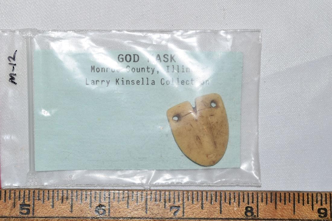 Rare Vintage Cast of The Illinois God Mask