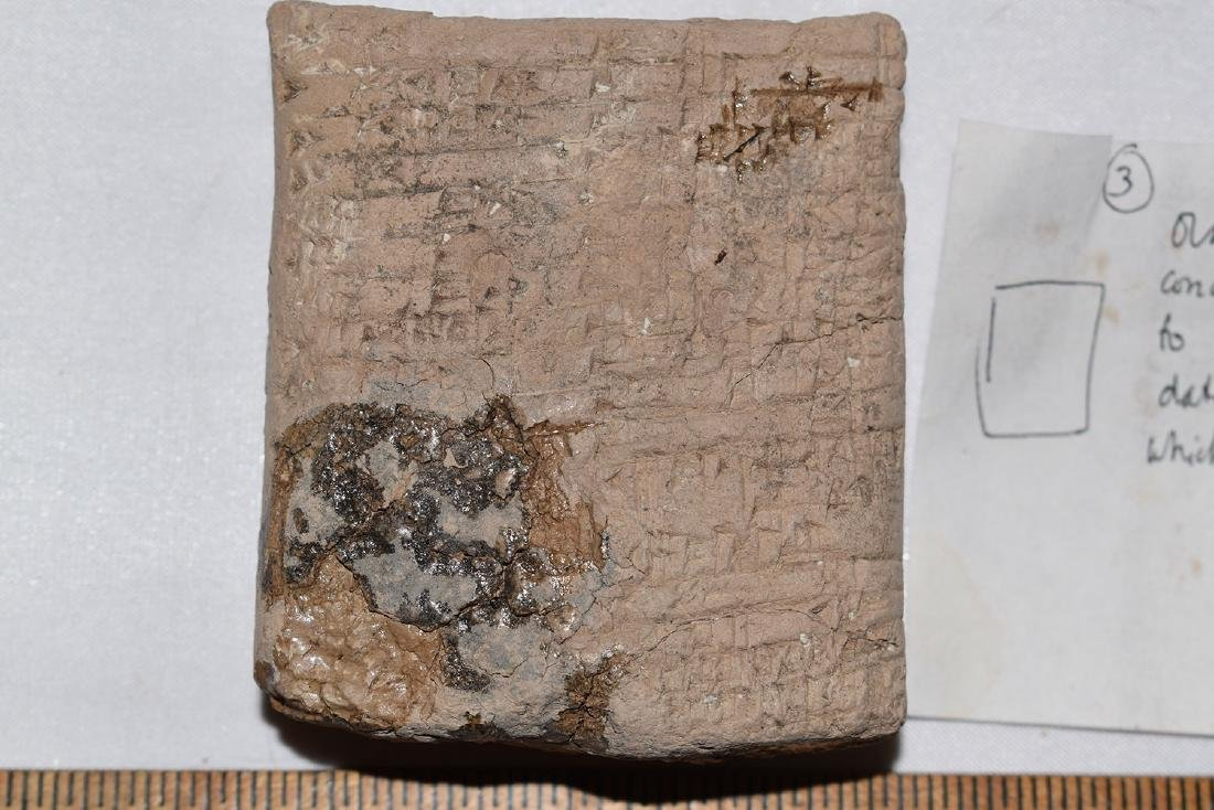 Ancient Cuneiform Clay Tablet, Babylonian, South Iraq, - 3