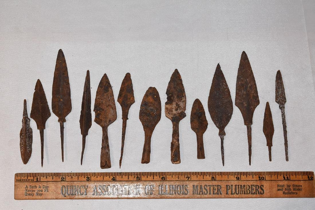 Iron Arrowheads, Roman