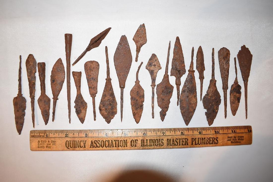 Iron Arrowheads, Roman