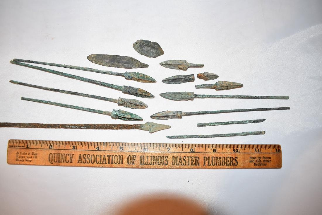 Bronze Arrowheads, Roman