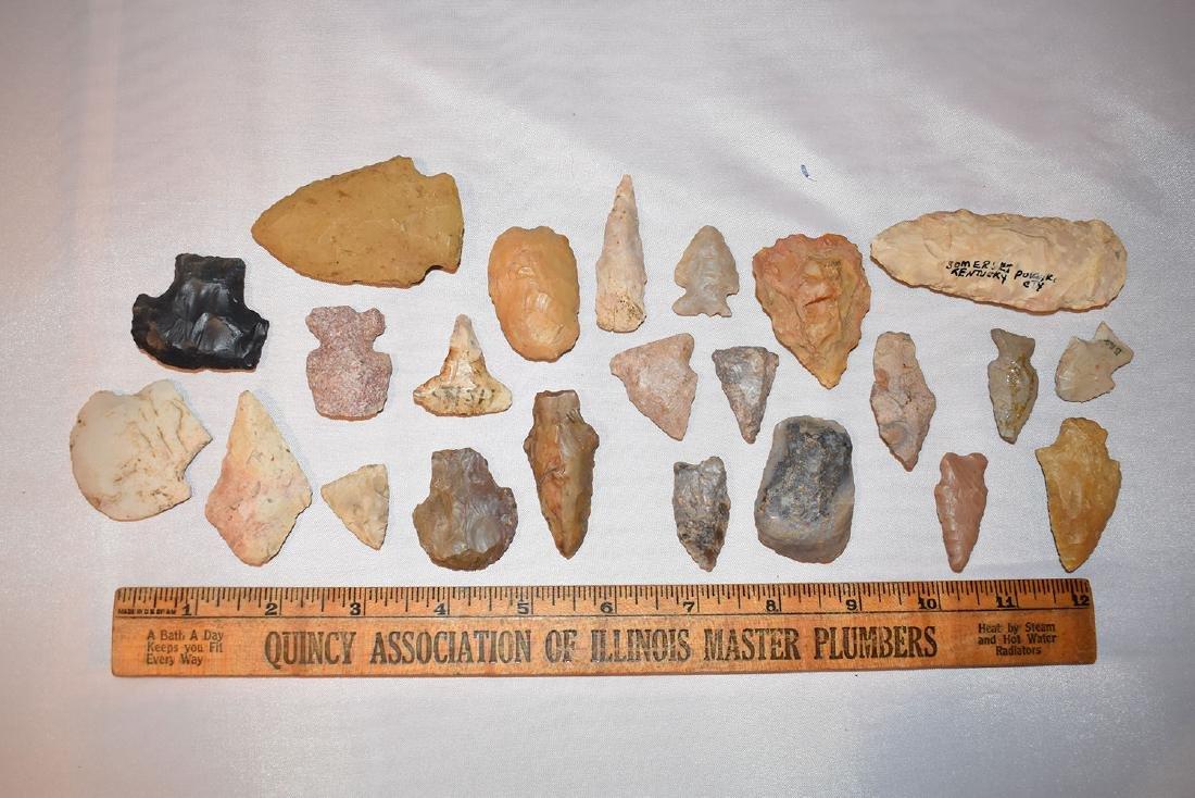Nice lot of Arrowheads, USA