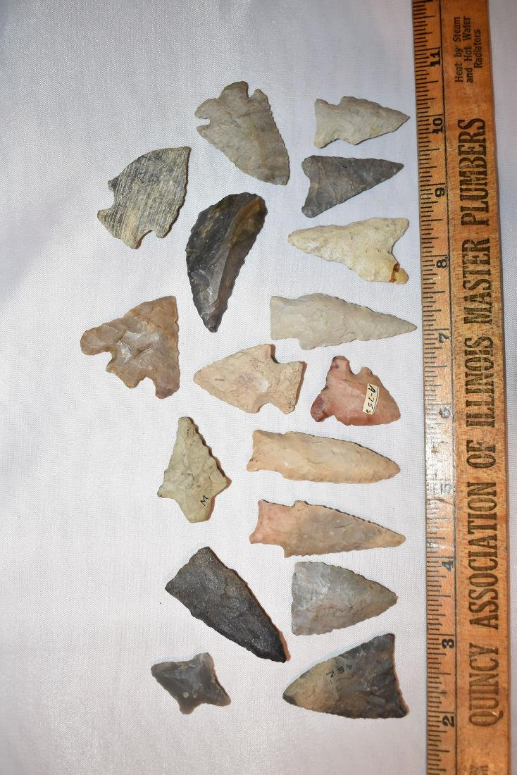 Nice lot of Arrowheads, USA