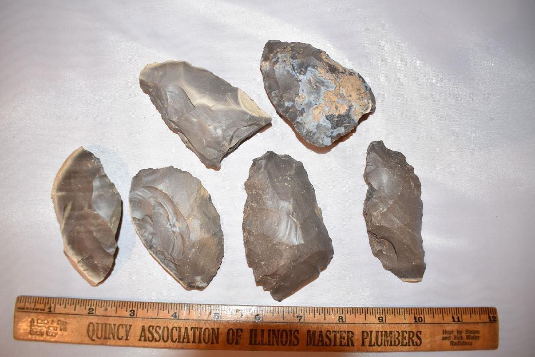 Cache of 6 hornestone blades found in Indiana