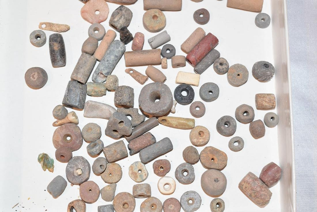 Huge lot of Prehistoric Beads, Mostly Pre-Columbian / - 2