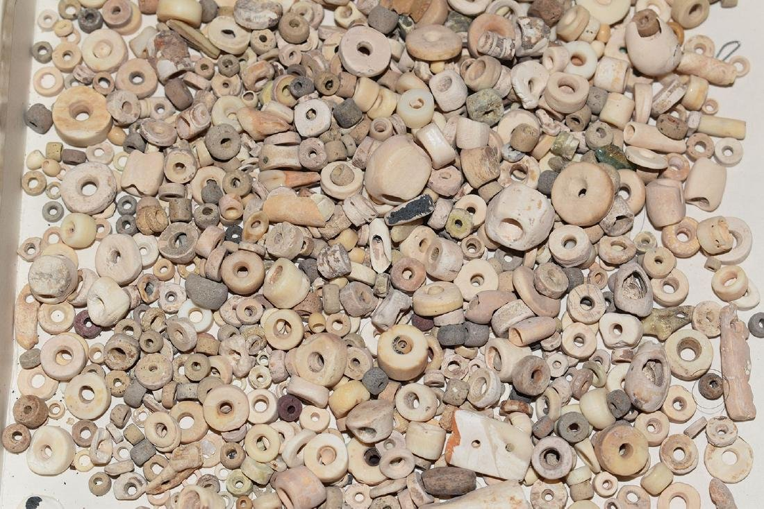 Huge lot of Prehistoric Shell Beads, Mostly - 2