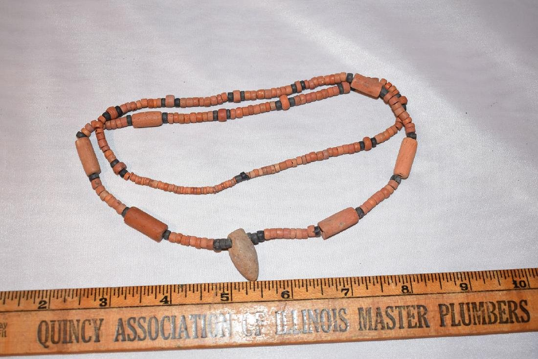Beaded Necklace, Prehistoric, Aferican