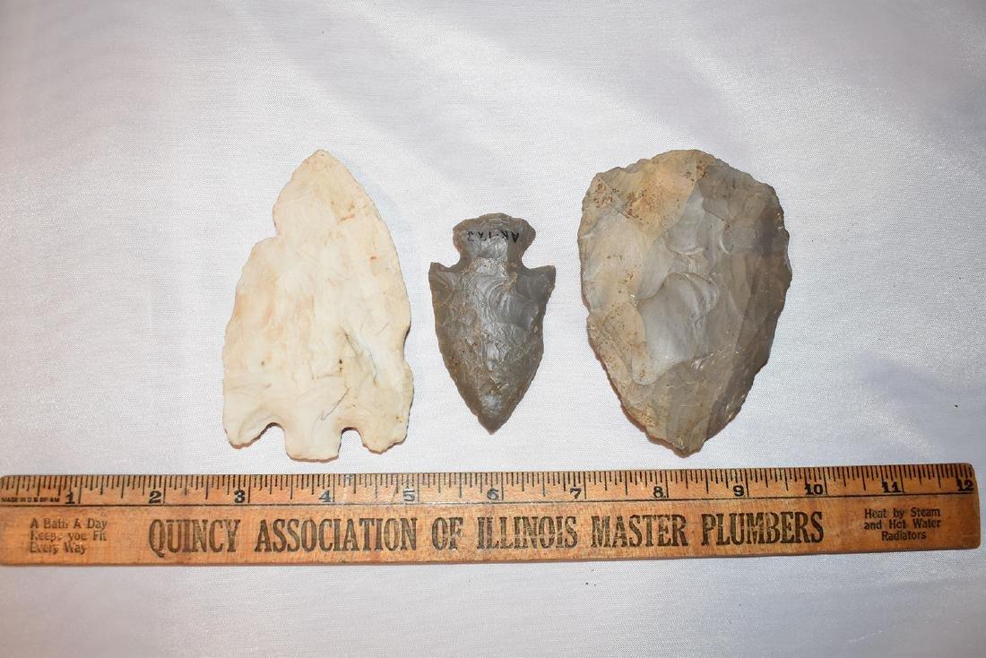 3 nice arrowheads