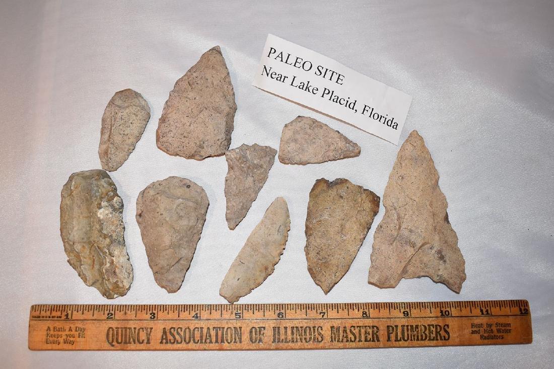 Lake Placid Florida Paleo Arrowheads