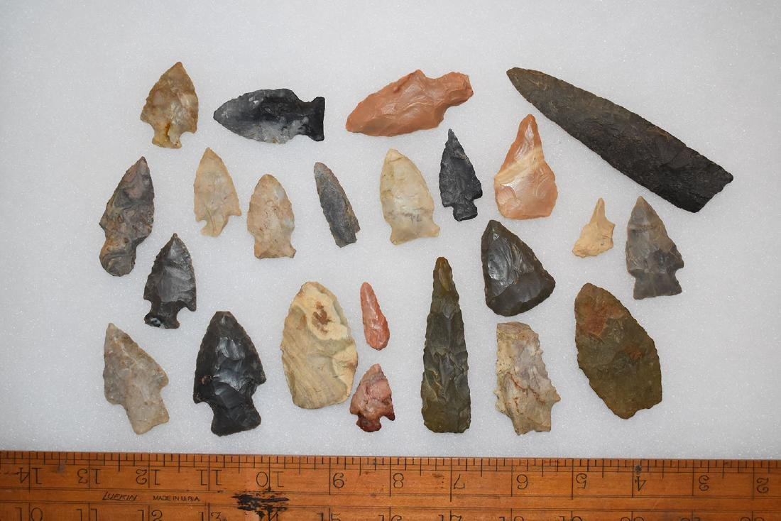 Lot of Kenton County Kentucky Arrowheads