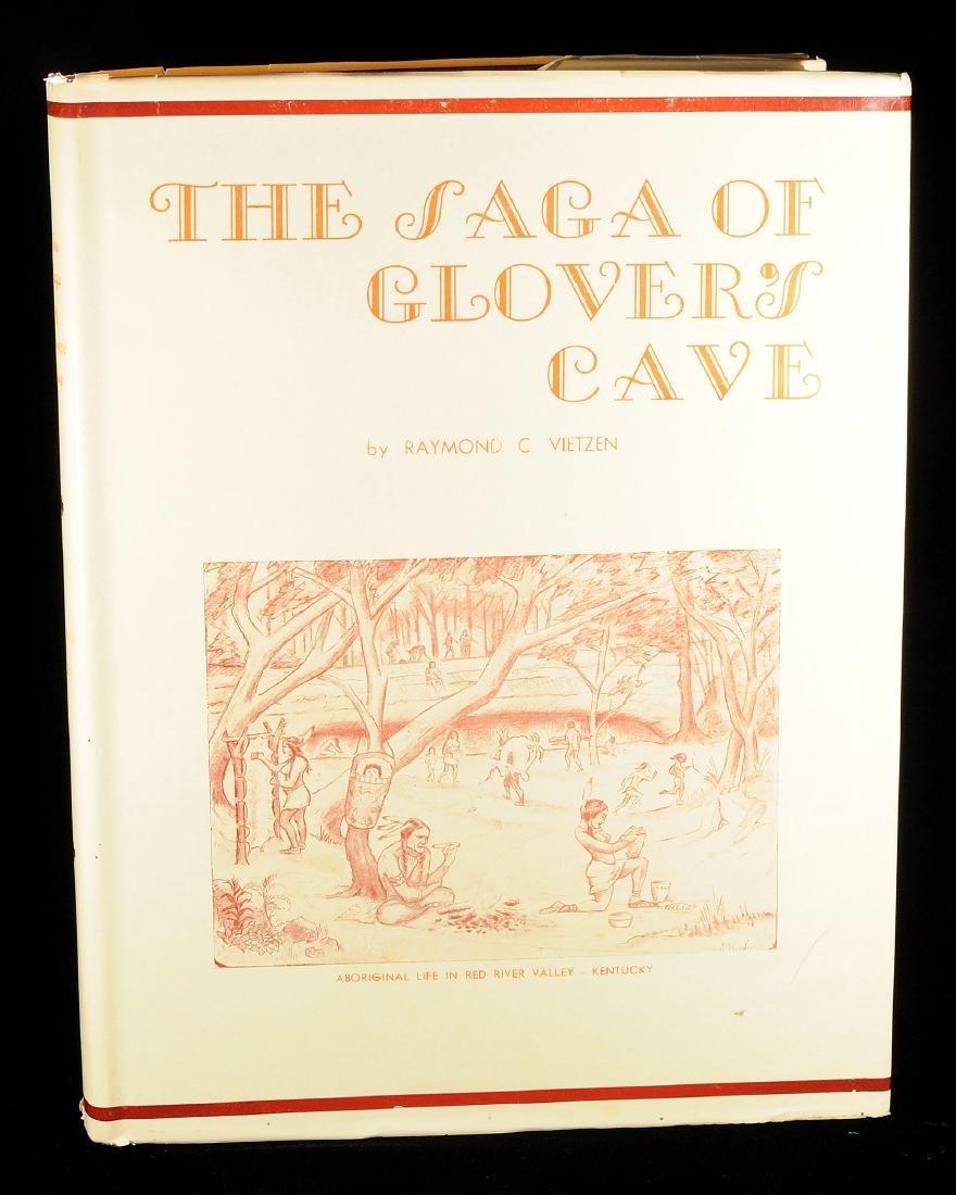 The Saga of Glover's Cave, Raymond Vietzen, 1956