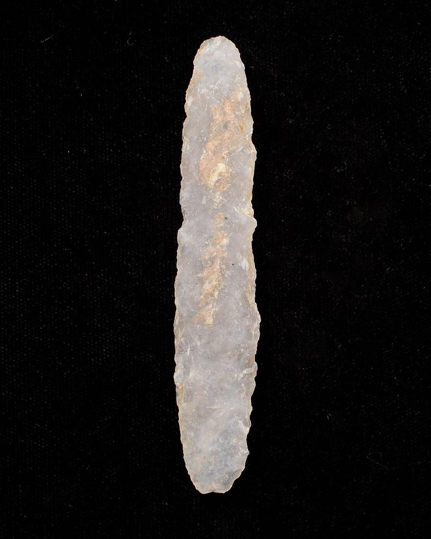 3.3 inches Agate Chalcedony Side Knife, Gettysburg SD