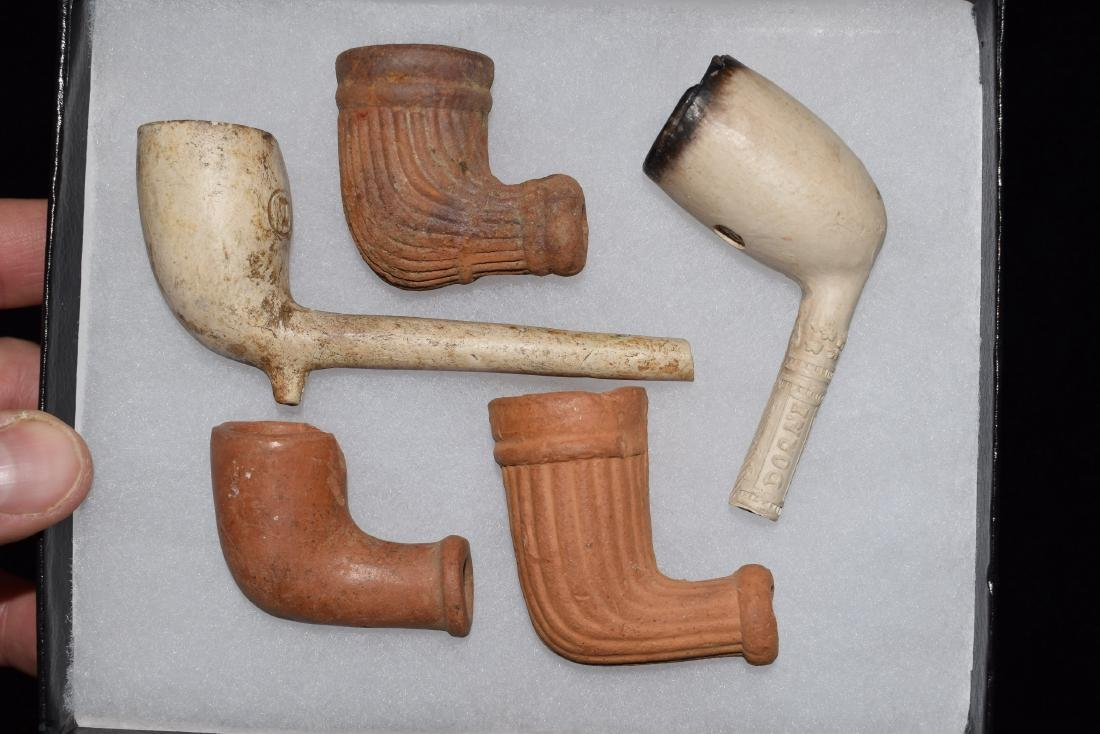 Lot of early trade Pipes