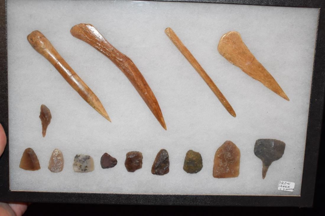 Frame of Relics, South Dakota, Crow Creek Site