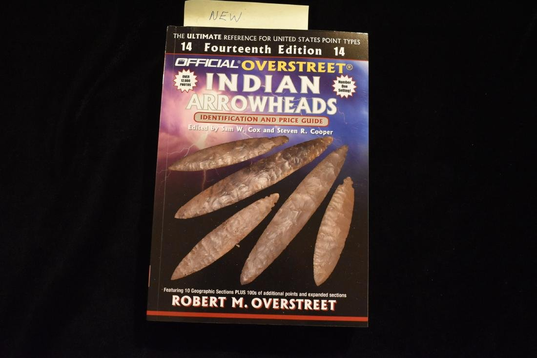 Overstreet, 14th edition, Indian Arrowheads Price
