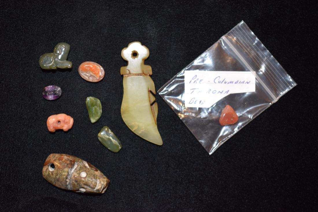 Lot of Effigy Pre Columbian Tairona Beads