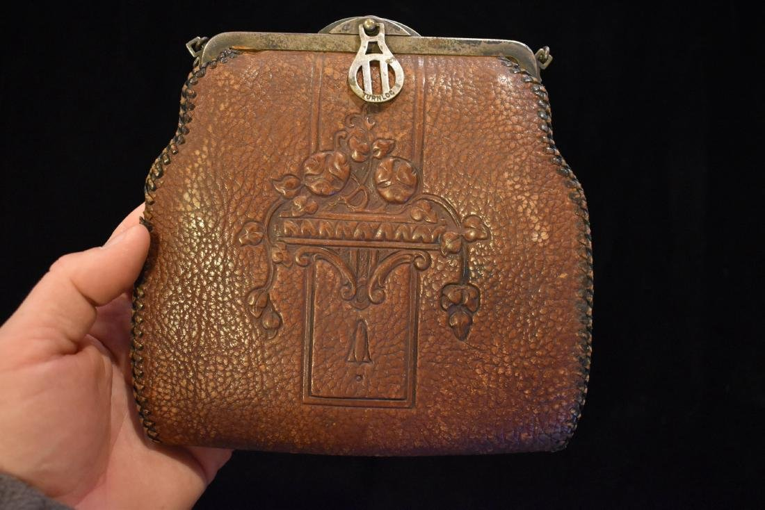 Early Leather Bag / Purse, Nice Design