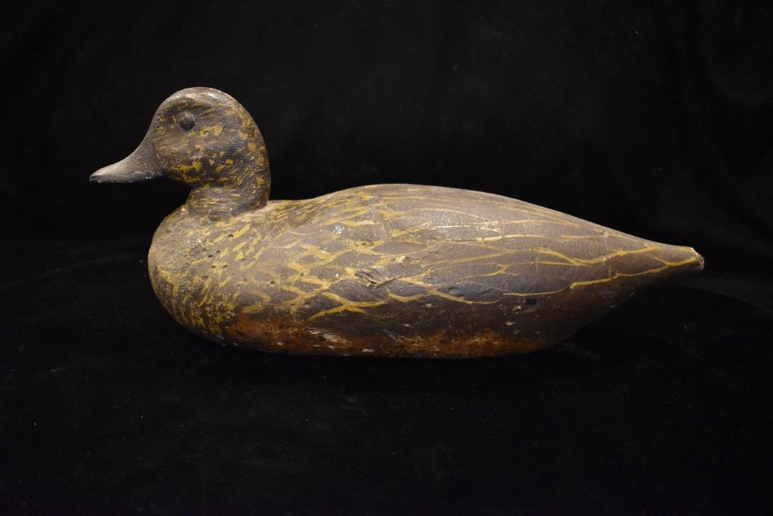 Hen Pintail Illinois River Working Duck Decoy