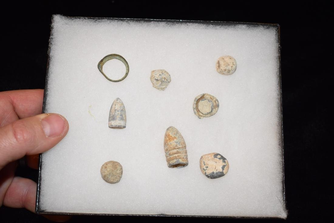 Civil War Artifacts, Found at Lookout Mountain,