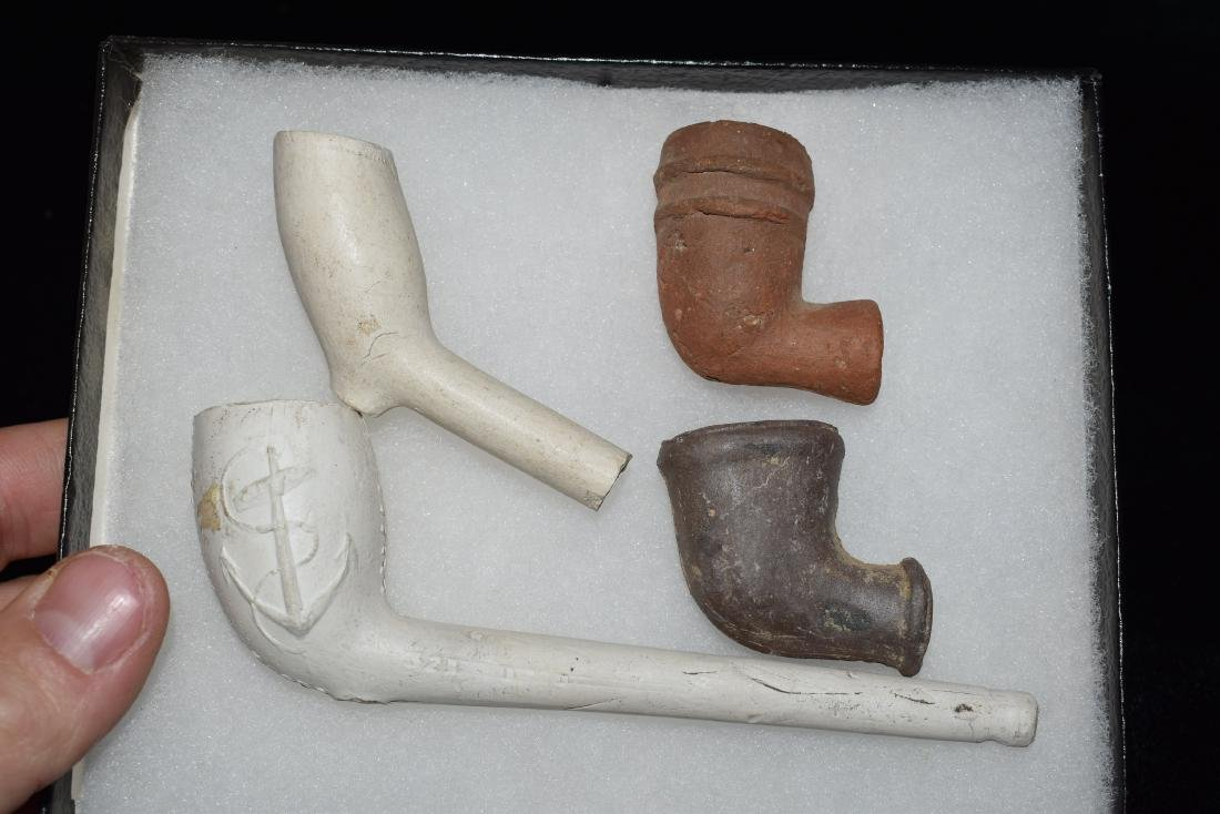 Lot of 4 Trade Pipes