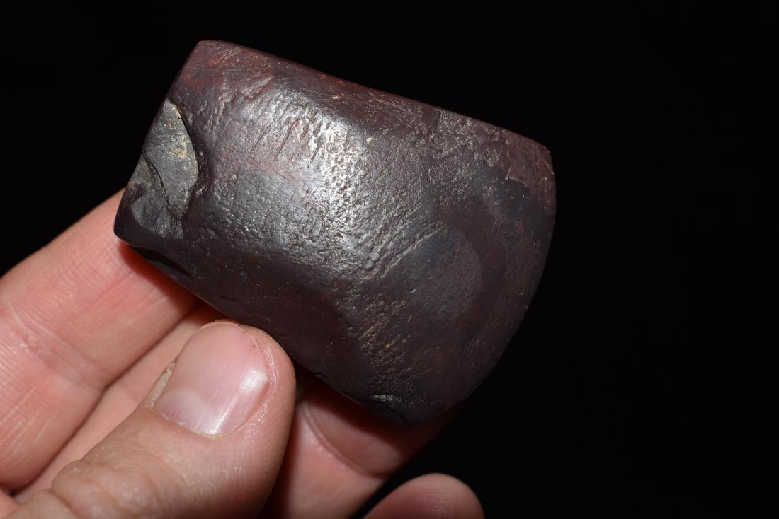 "2"" Hematite Celt, Franklin Co Missouri - 3"