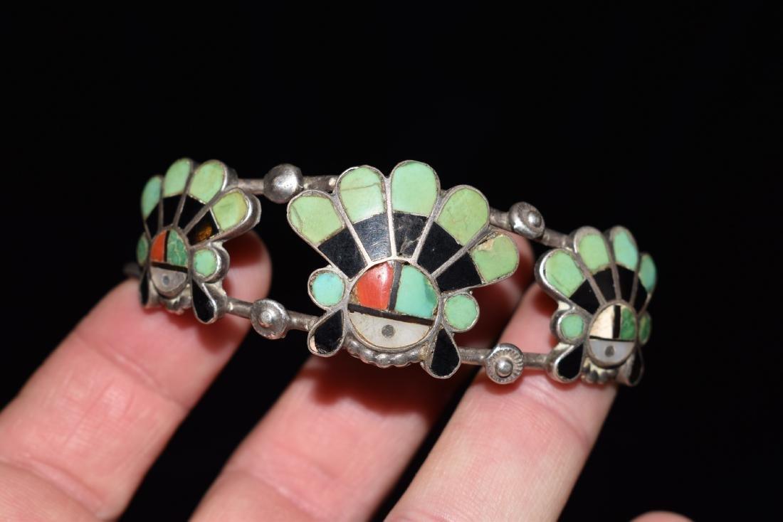 Old Southwest Silver Bracelet Jewelry, K. B. Eustice