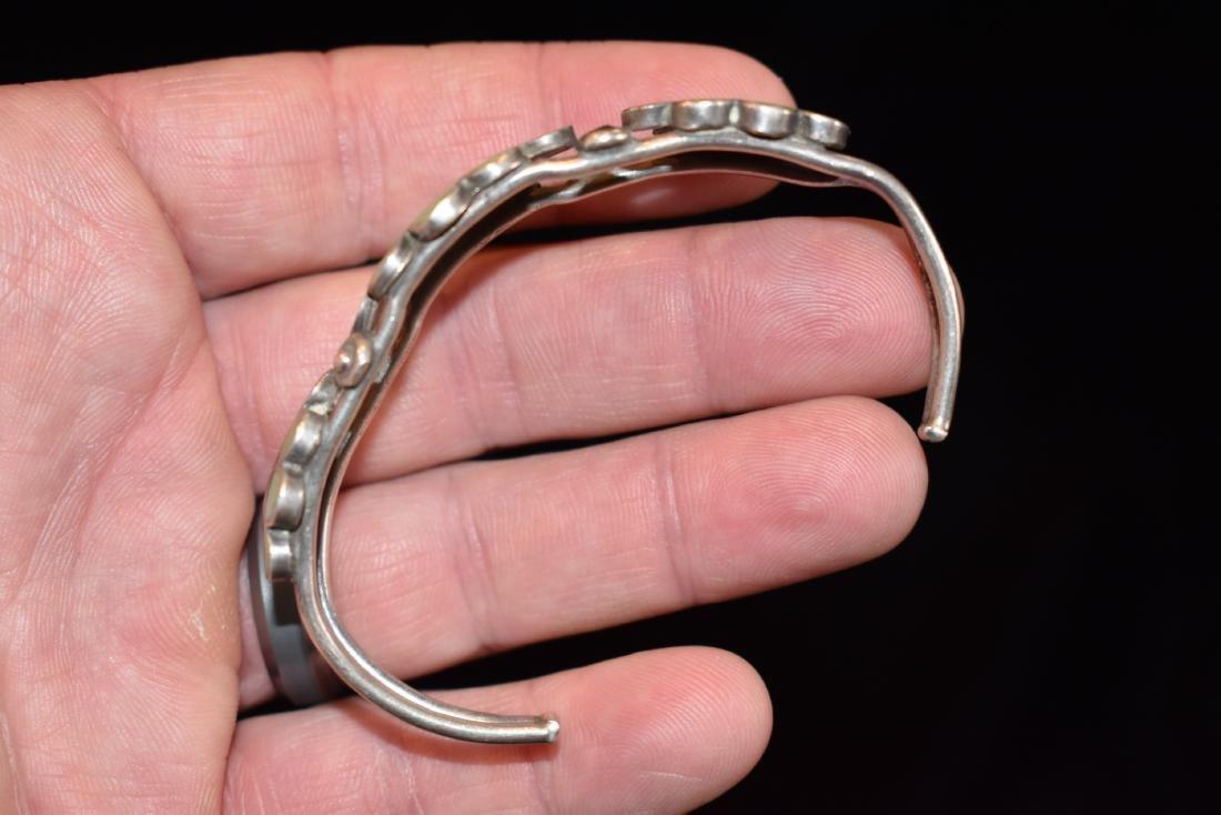 Old Southwest Silver Bracelet Jewelry, K. B. Eustice - 2