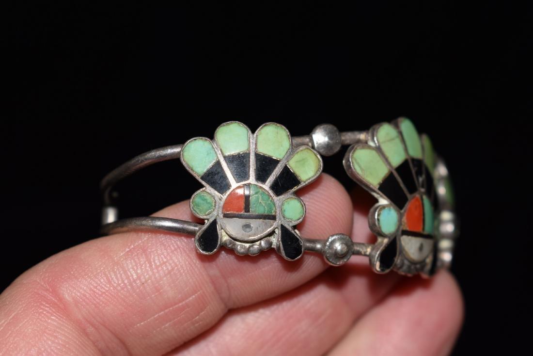 Old Southwest Silver Bracelet Jewelry, K. B. Eustice - 5