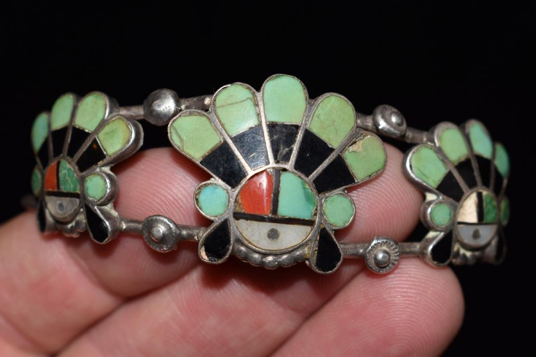 Old Southwest Silver Bracelet Jewelry, K. B. Eustice - 6