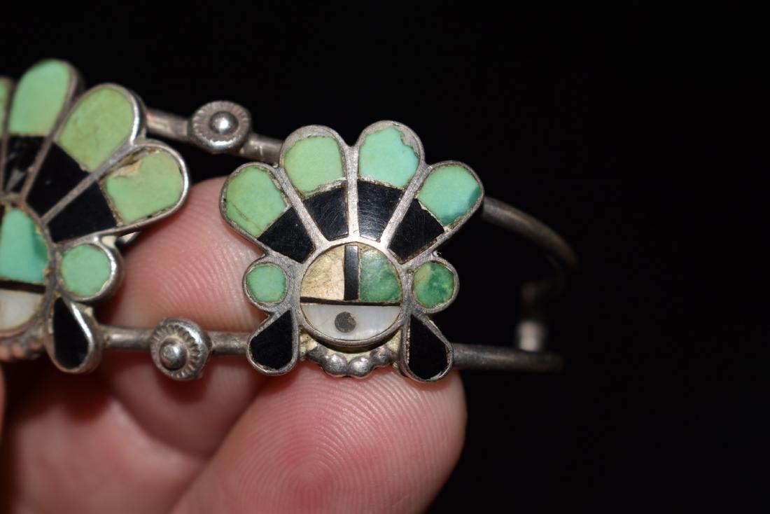 Old Southwest Silver Bracelet Jewelry, K. B. Eustice - 7