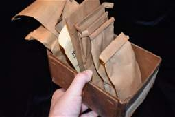 Box of relics Labeled Broken Lyman Hussey Collection