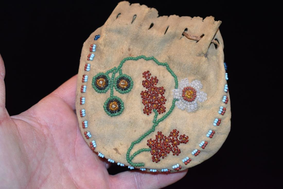 "Beaded Bag. 4.1/2"", Newer"