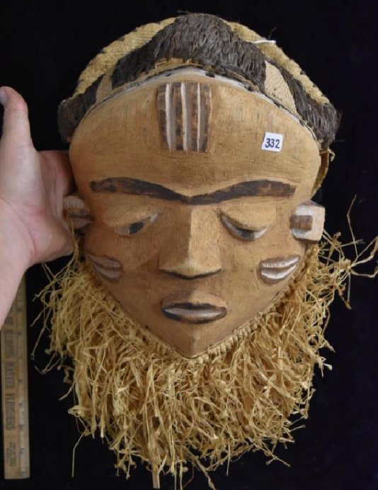 """13"""" tall African Mask"""