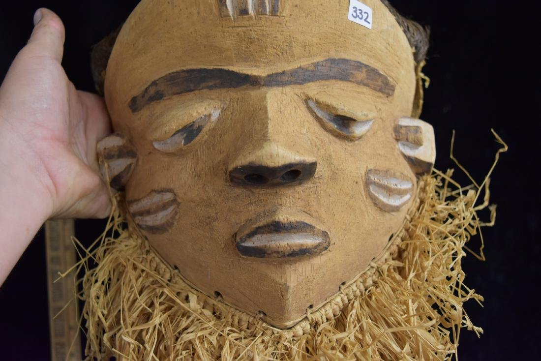 """13"""" tall African Mask - 2"""