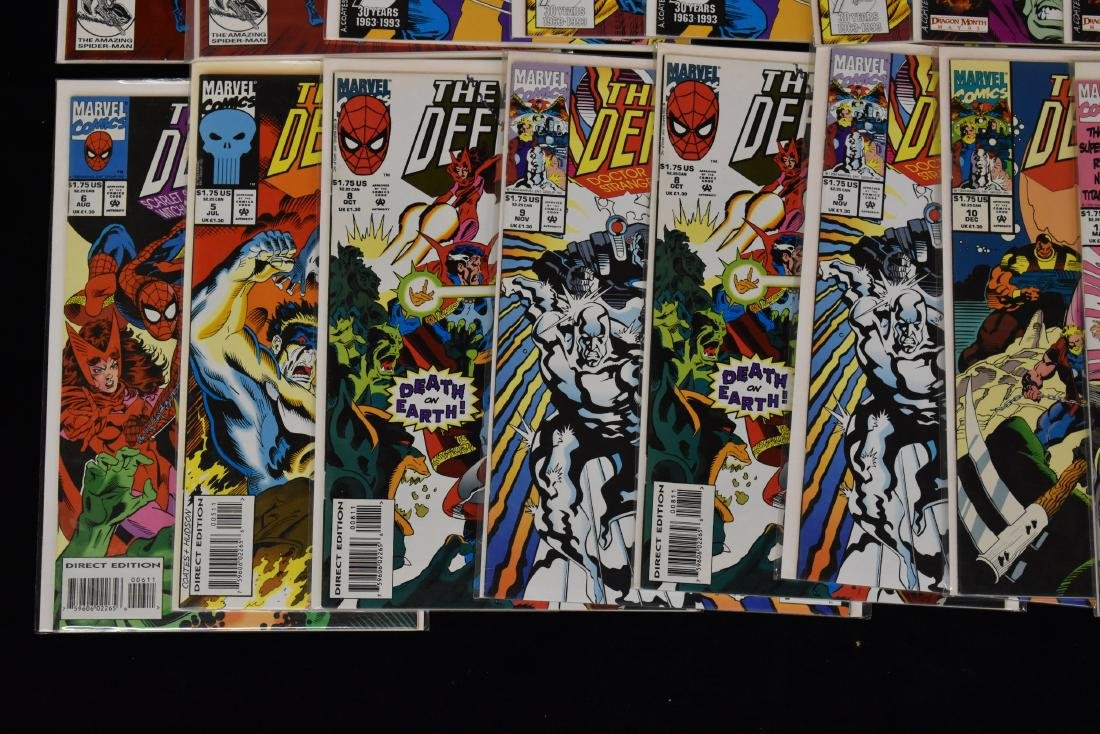 20 issues of The Secret Defenders Comic Book Lot - 4