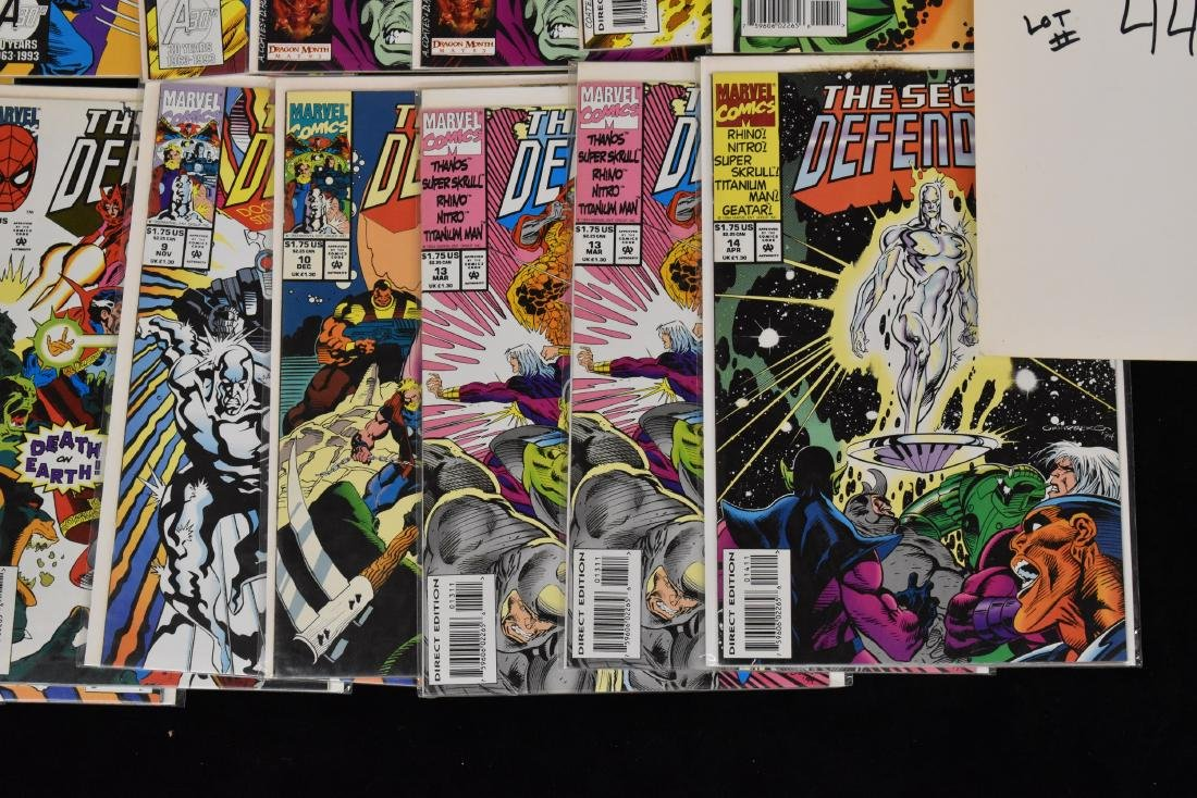 20 issues of The Secret Defenders Comic Book Lot - 5