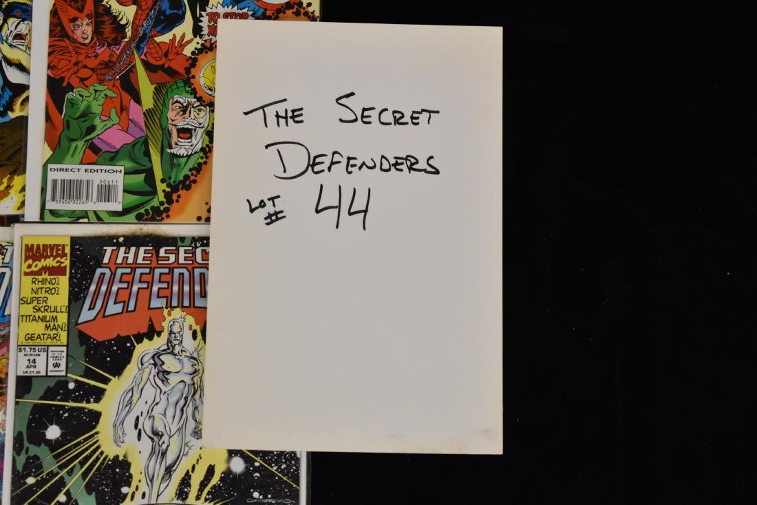 20 issues of The Secret Defenders Comic Book Lot - 6