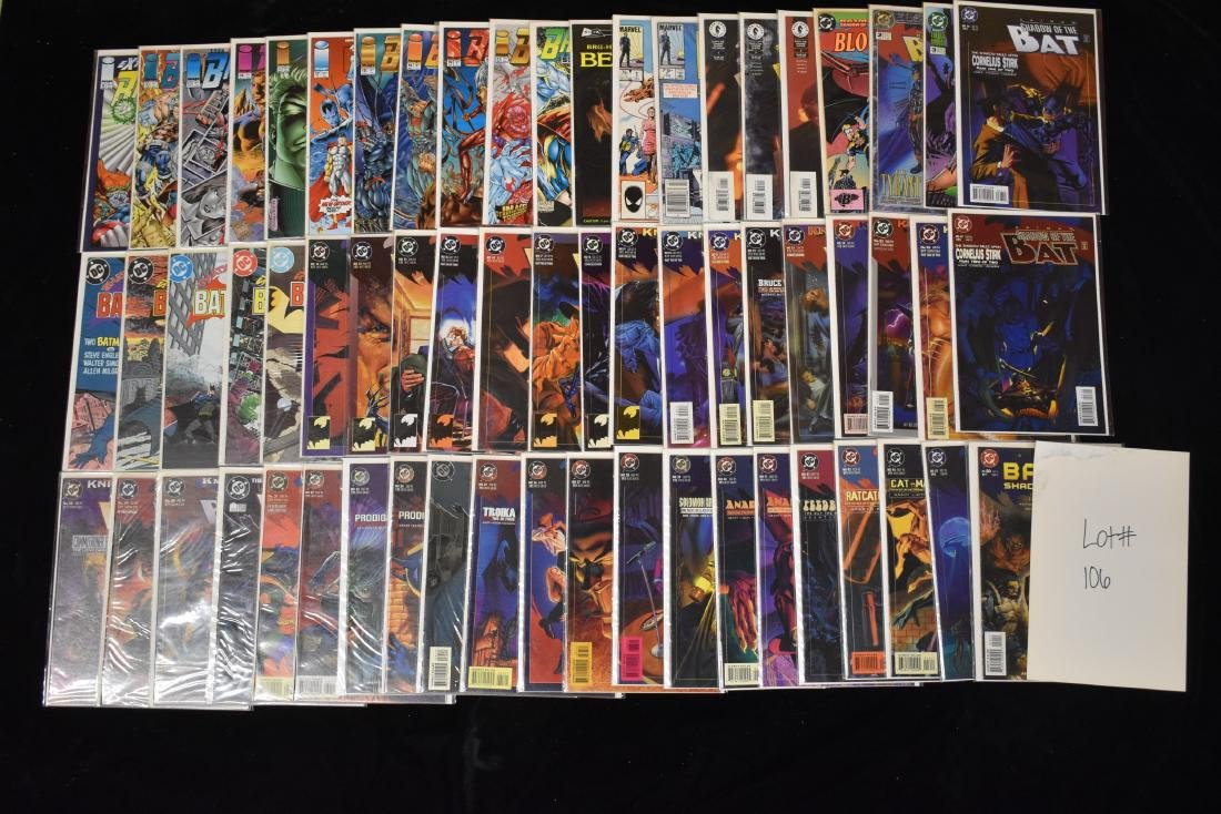 63 Issues of Miscellaneous Comic Book Lot